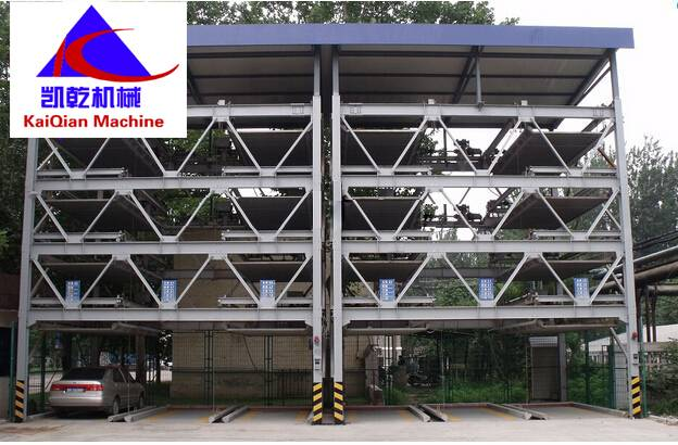 Lift-sliding Mechanical Parking System