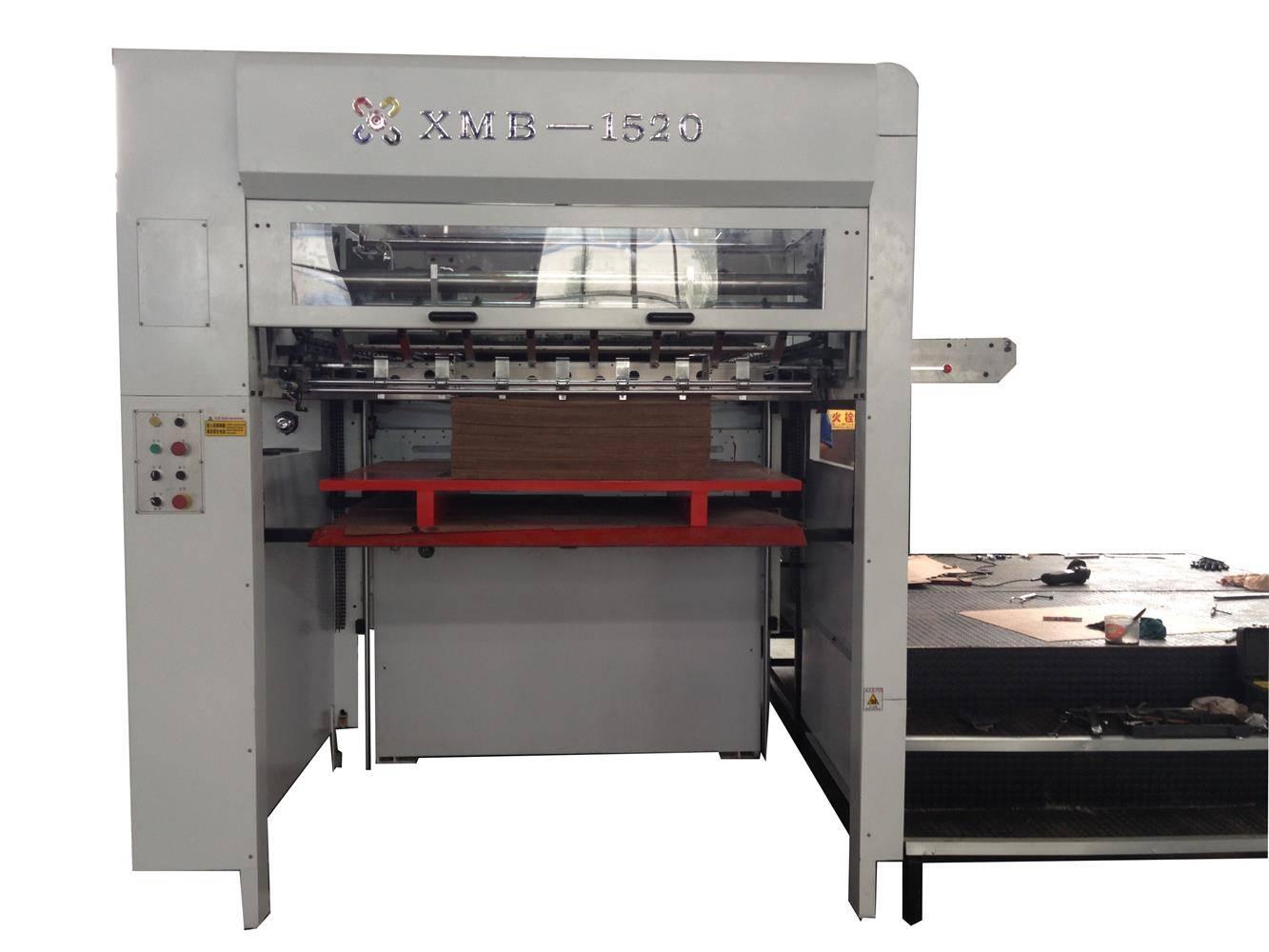 1520mm high quality semi-automatic corrugation die cutting machine