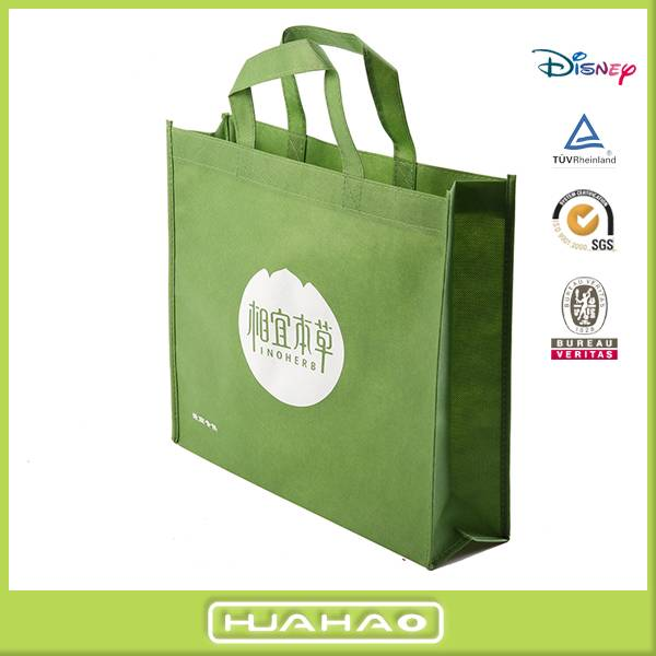 wenzhou eco friendly promotional non woven gift shopping bag