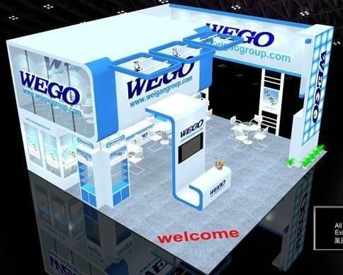 Exhibition Booth Setup : Global exhibition stall booth design fabrication setup