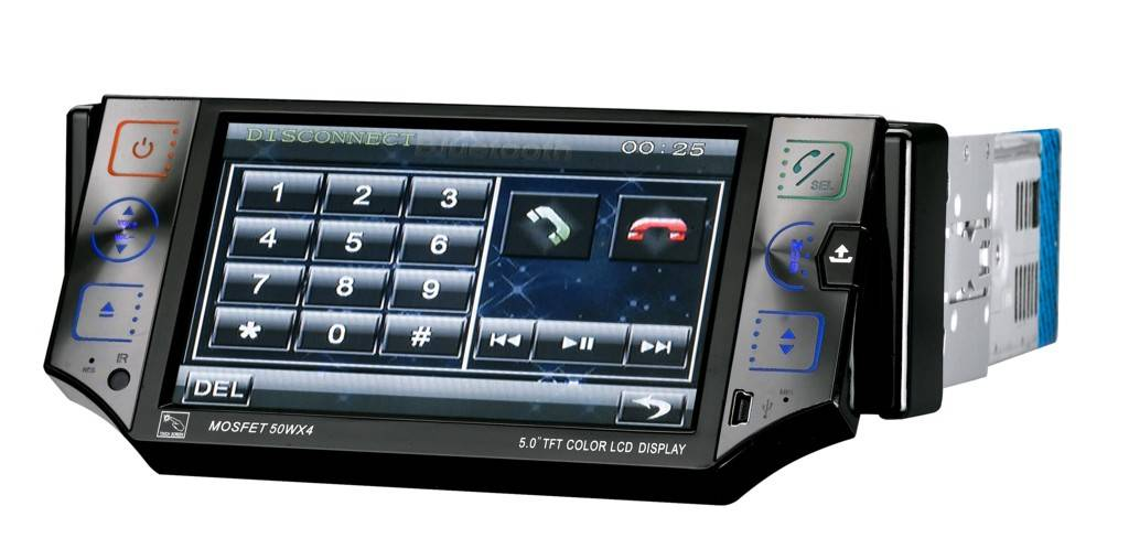 5 inch In-dash Car DVD player Touch Screen LCD with TV/AM FM/RDSUSB/SD/Bluetooth/Ipod/GPS/