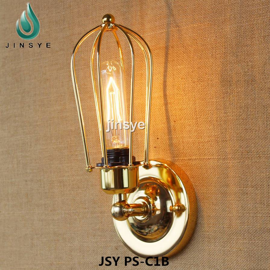 Vintage industrial wall lamp brass wall light fixture retro lighting sconce