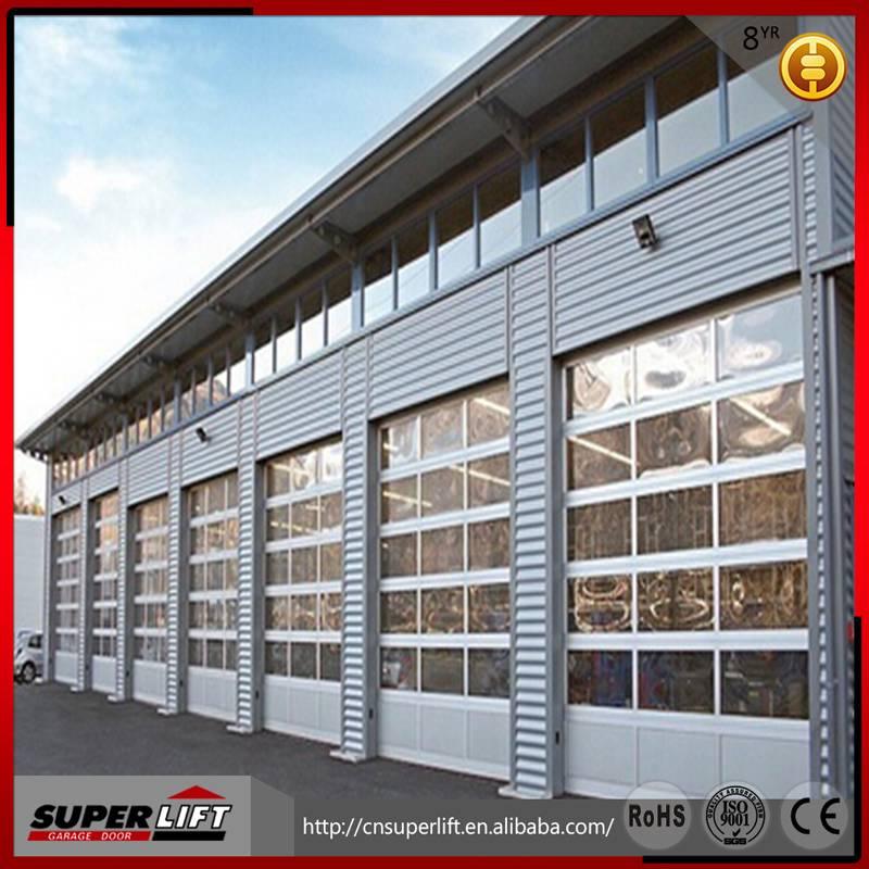 2015 HOT SALE new design aluminum garage door low price