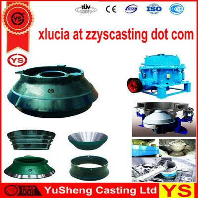 Heat treated Cone Crusher Spare Parts