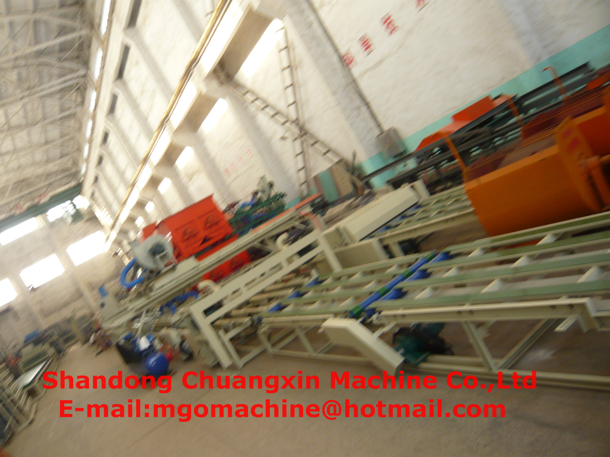 lightweight magnesium oxide board machine