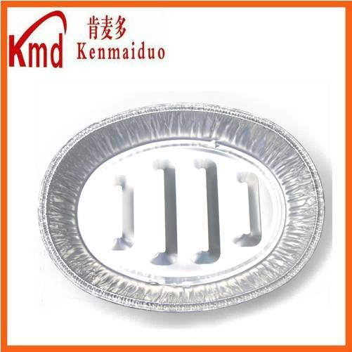 Available size factory wholesale huge size oval aluminum foil food containers