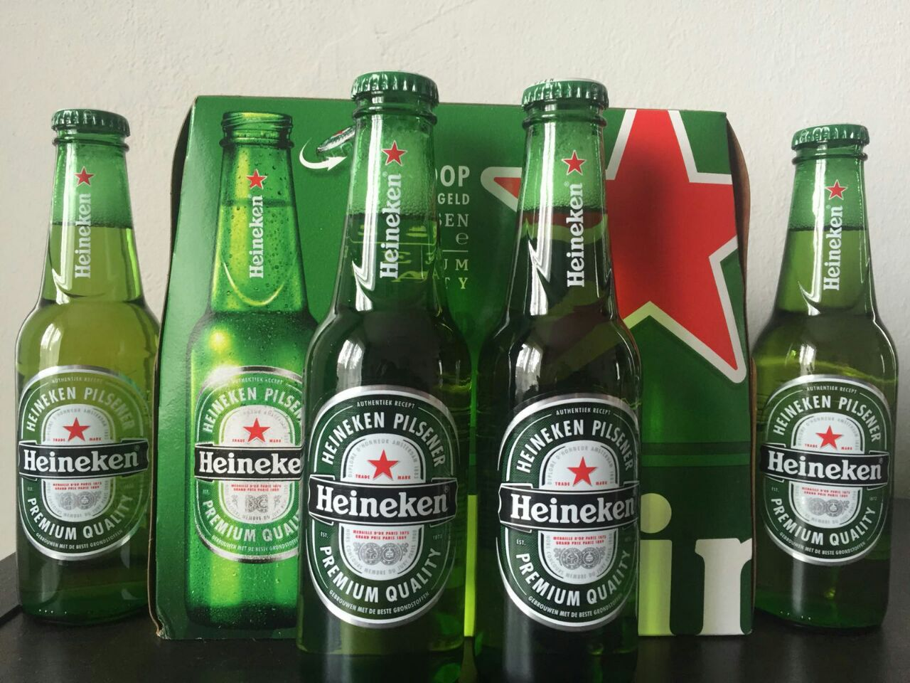 Heineken Lager Beer 25cl x 24 Glass Bottles