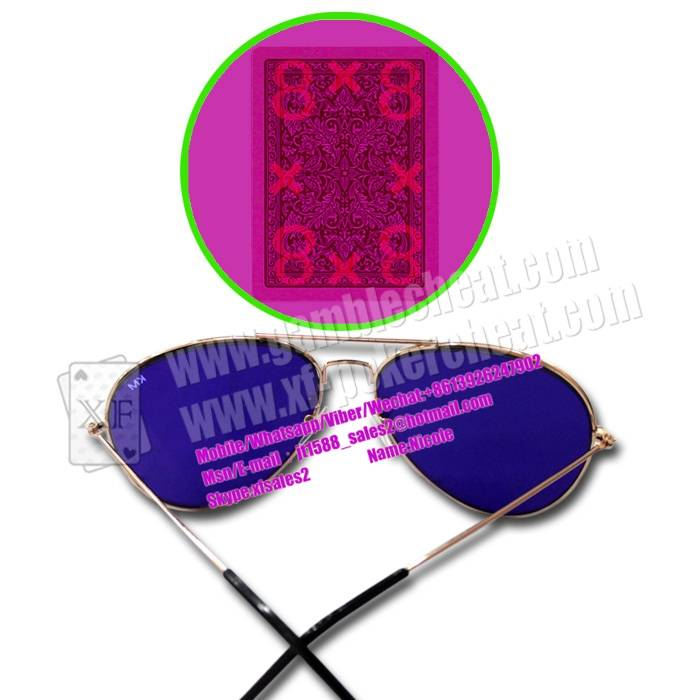New Fashion Invisible Ink Glasses For Poker Cheat Magic Tricks
