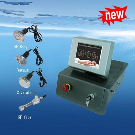 RF&Cavitation&vacuum weight loss beauty machine