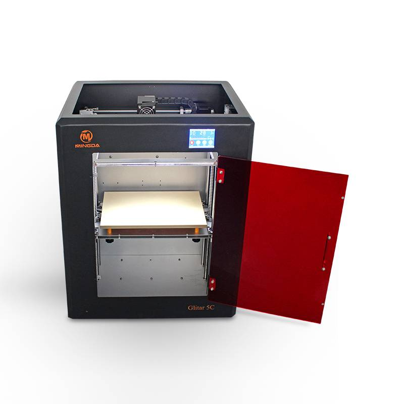 2015 New MINGDA Glitar 5C , Large 3d Printer Machine With High Precision For Designers
