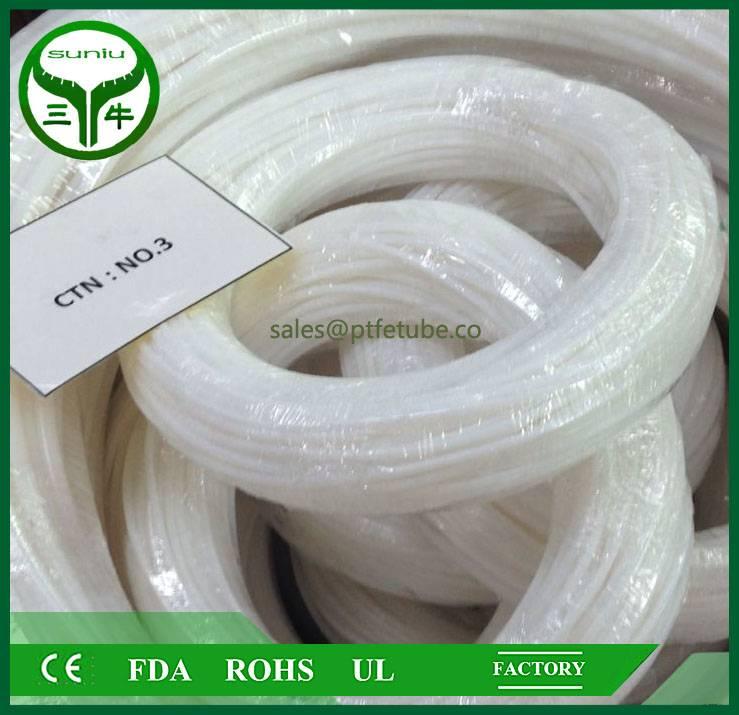 ptfe tube sheet mechanical seal /ptfe hose /virgin PTFE TUBE SUNIU