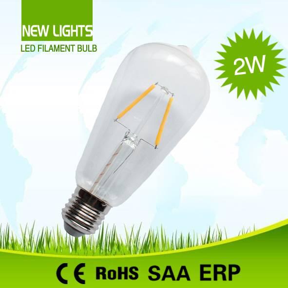 Good Quality Factory Price ST64 LED Filament Bulb