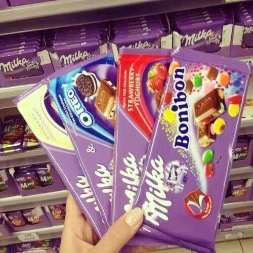 MILKA CHOCOLATE 100G (Available Flavours)