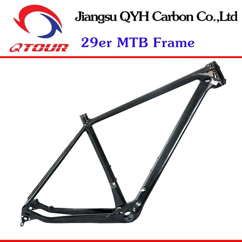 29er Mountain Bike Frame Toray Carbon Fiber Frame, T700 800 Carbon