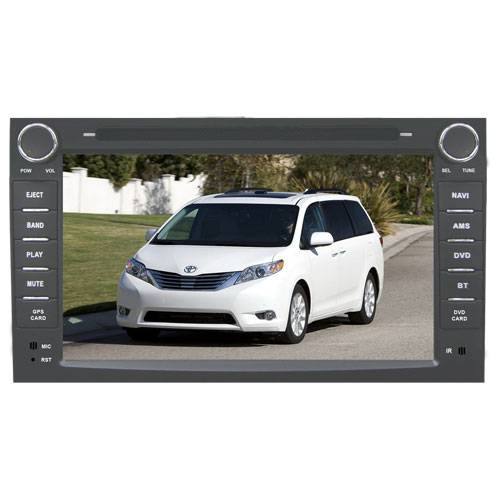 TOYOTA SIENNA Car radio dvd player with GPS Bluetooth Ipod Chinese