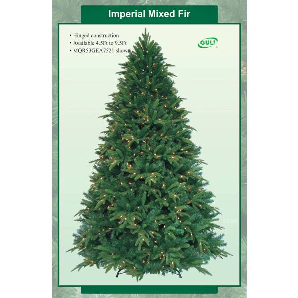 Mixed Artificial Christmas trees with Led