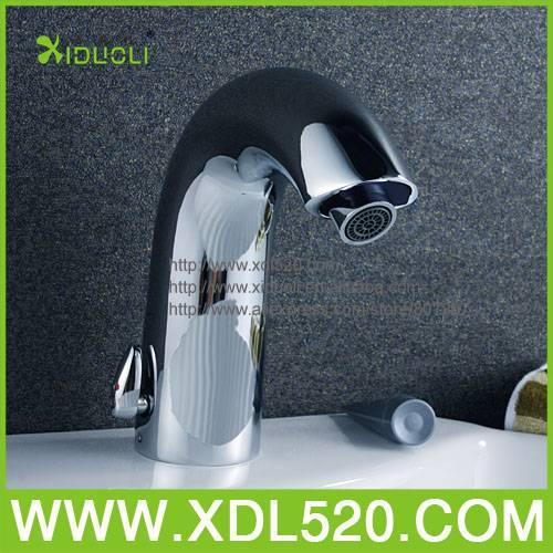 Bathroom single sensor basin mixer
