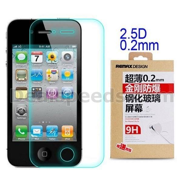REMAX 0.2mm 9H Kingkong Anti-explosionTempered Glass Screen Protector For iPhone4S