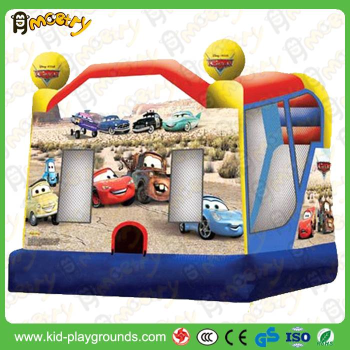 Commercial Grade Inflatable Mini Combo Jumper with Slide and Bouncer , Inflatable Bouncer Jumper