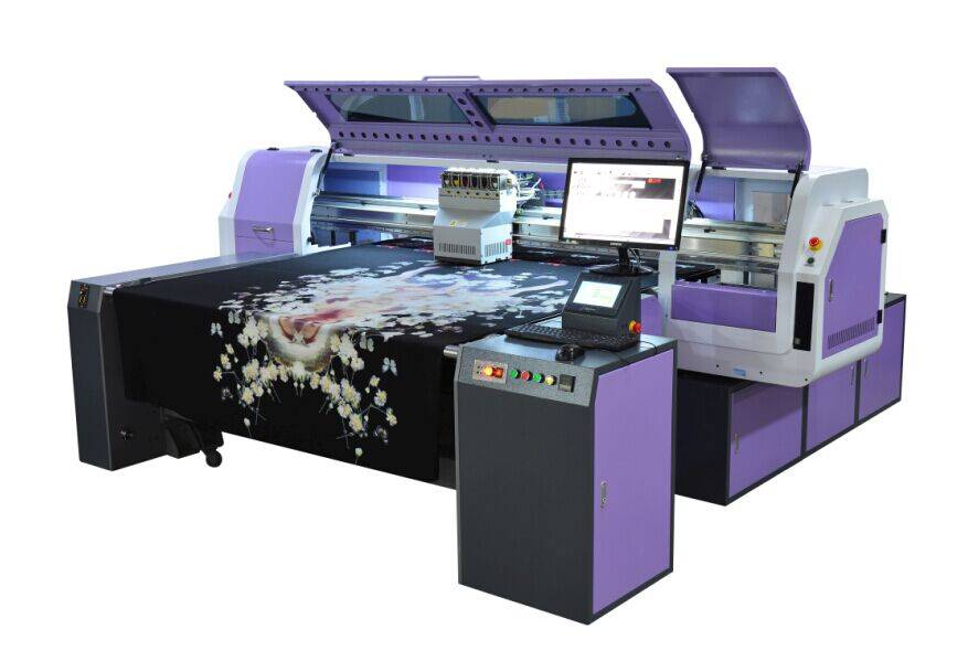 Fd1828 White Ink Direct Printing Belt Printer