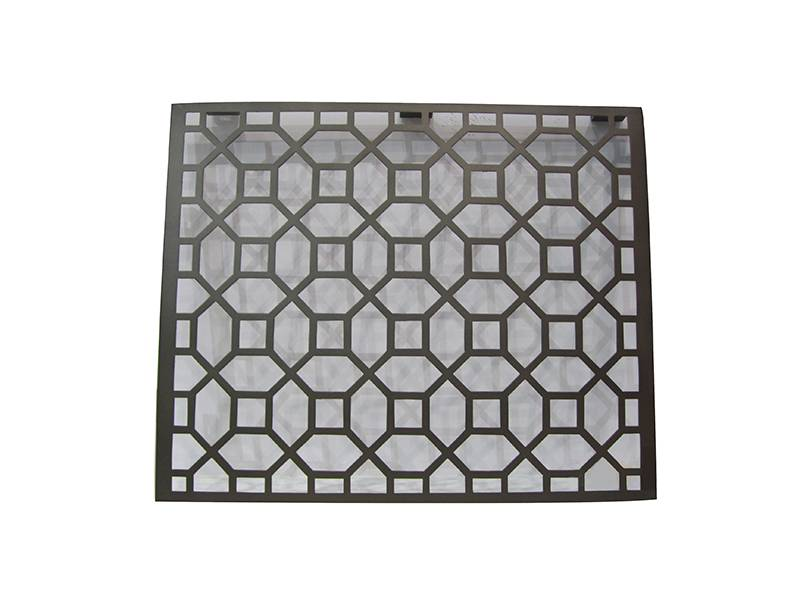 Carved Hollow Aluminum Single Panel For Decoration