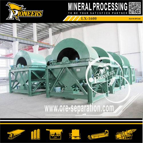 Gravity Separator Mining Gold Centrifugal Concentrator (LX)