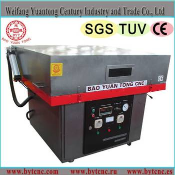 Advertisement signage vacuum forming machine