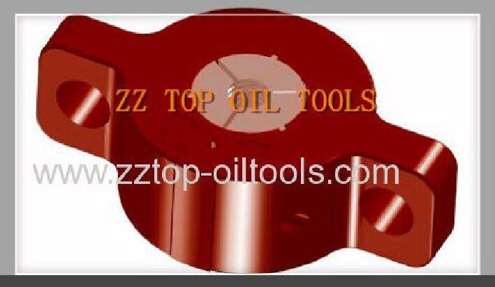 """Oilfield Wellhead Hub Clamp No. 18 - 21 1/4"""" x 2000 psi"""