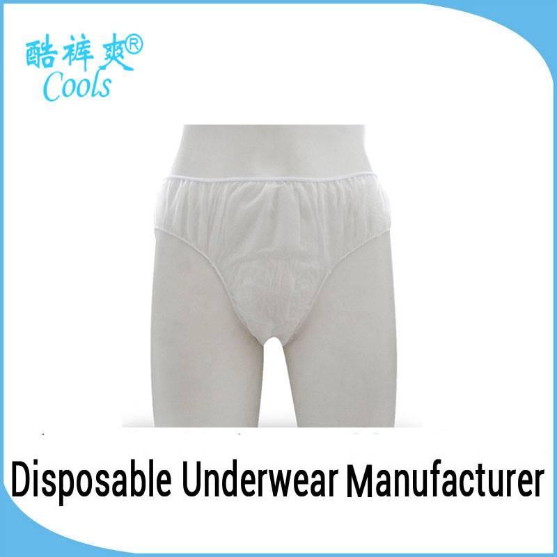 Hygienic Spa Nonwoven Disposable Underwear For Men
