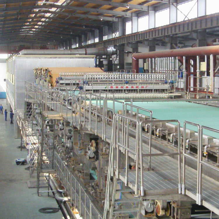 High Speed Fluting Paper Testliner Paper Making Machine Manufacturer