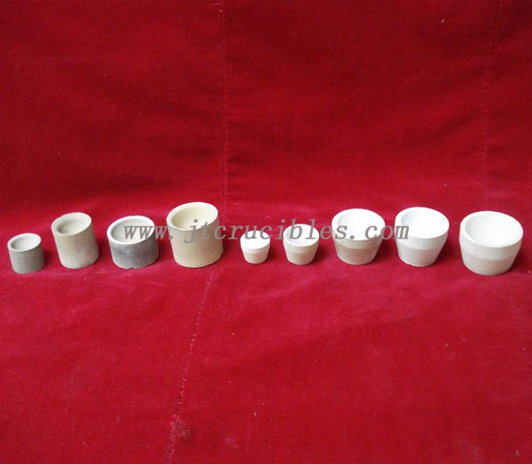 high quality fire assay magnesia Cupels
