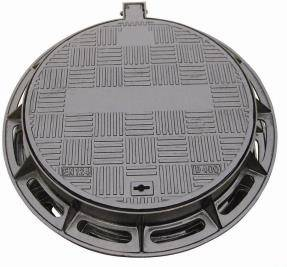 EN124 Heavy Duty Single Seal Manhole Cover  with Lock System