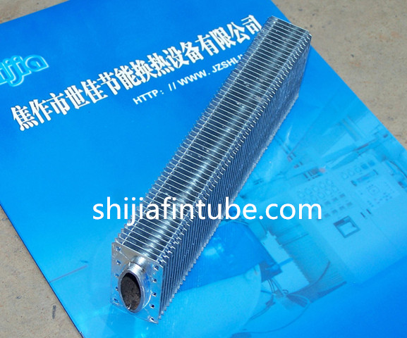 SHIJIA SJ-31 hot dip galvanized elliptical fin tube