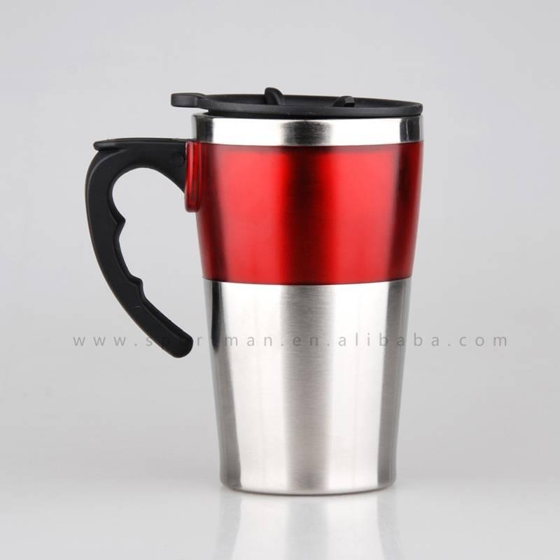 Double wall coffee mug custom advertising mug travel mug