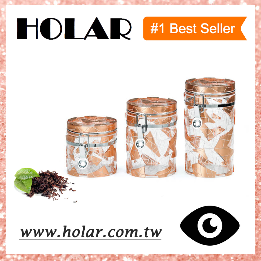 [Holar] Taiwan Made Food Canister Plastic Food Container for Tea Sugar Coffee