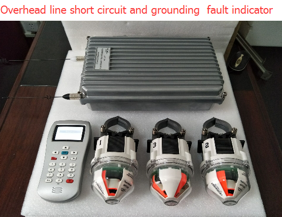 Hot sales SNV-308 & 309 Overhead line short-circuit and grounding fault indicator(for four remote)