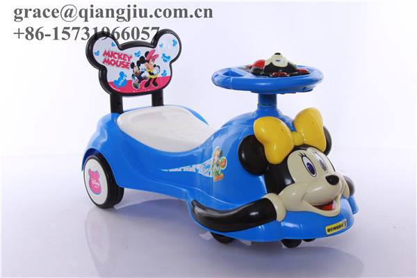 Swing Wiggle Gyro Ride on Car no Pedals no Batteries/EN-71 certificated Qiangjiu Bicycle Group