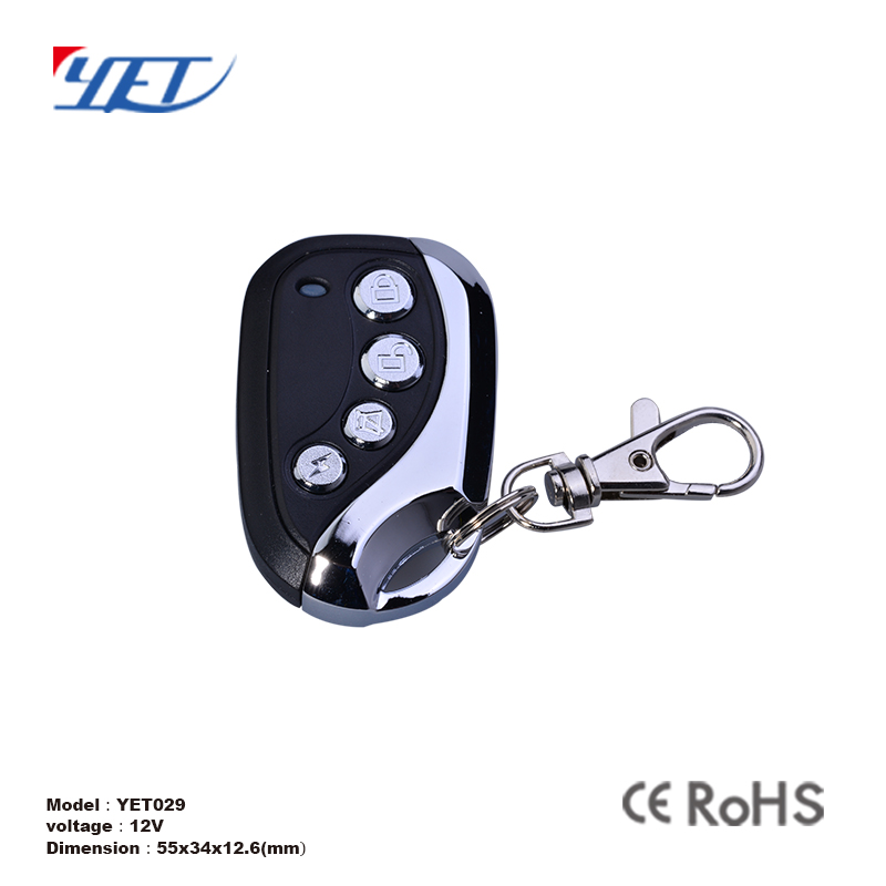 keychain pt2260 rf electric door lock remote control for switch