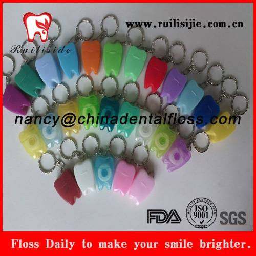 colorful tooth shaped dentist gifts dental floss products dental floss products
