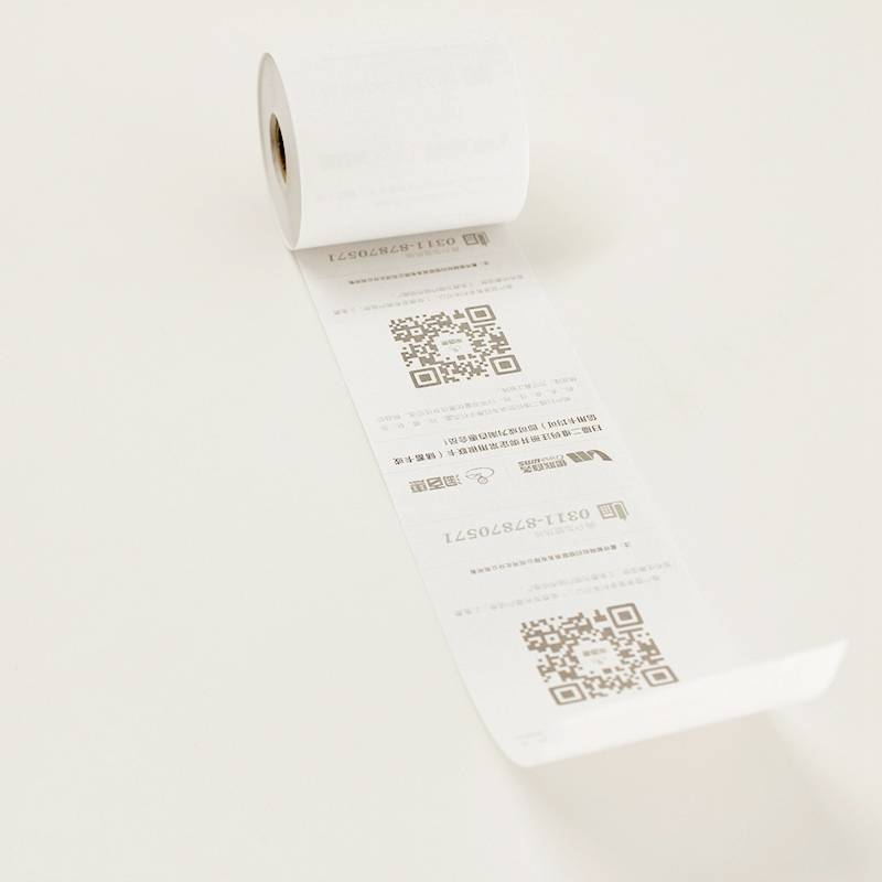 57mm pre-printed paper roll atm thermal paper rolls
