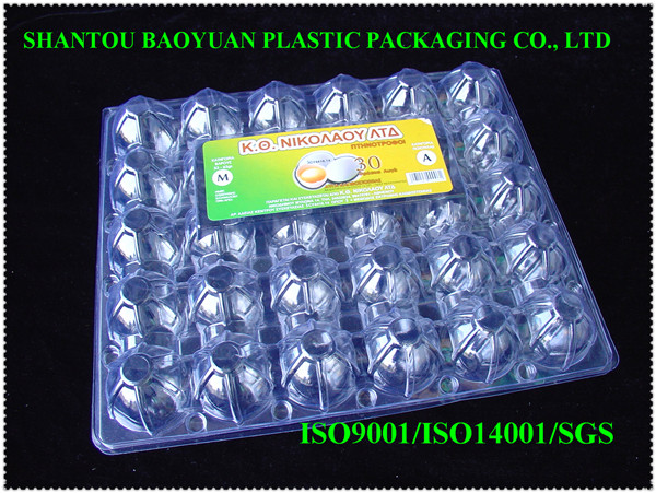 economical strong PVC 30 cavities Egg Pack