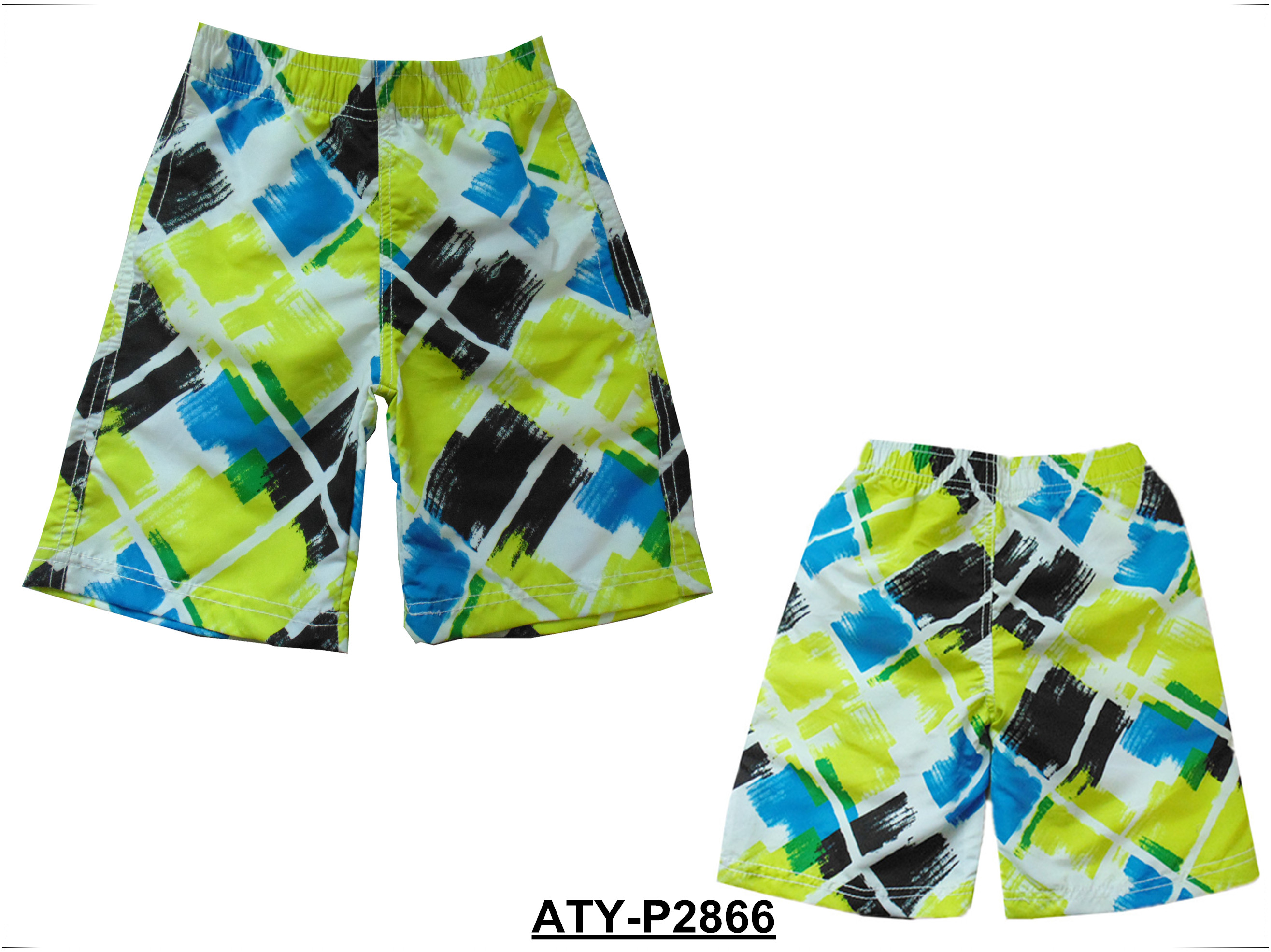 Kids boys swimming shorts, children wear