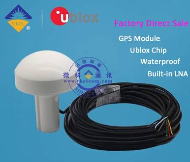 VKEL VKRGPS1 GPS Navigation/Positioning Module 15Meters Antenna for GPS Mushroom Receiving Antenna F