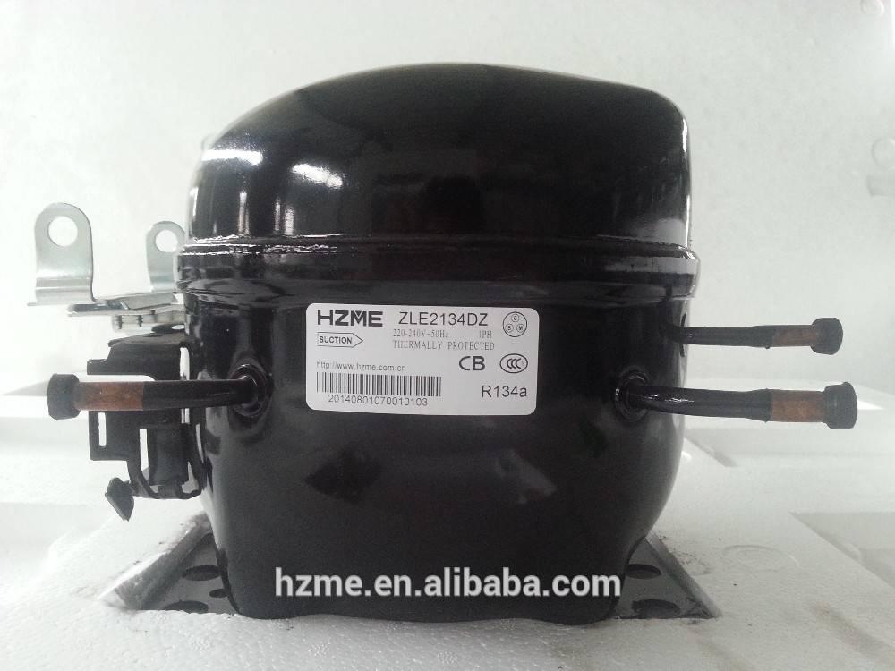 R134a refrigeration compressor LBP 1/4 HP 220-240V/50HZ 356 W cooling capacity for refrigerator