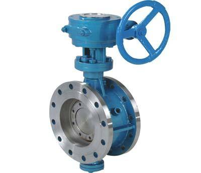 D43 High Quality Pneumatic Single Action Hard Seal SS304 Butterfly Valves Manual