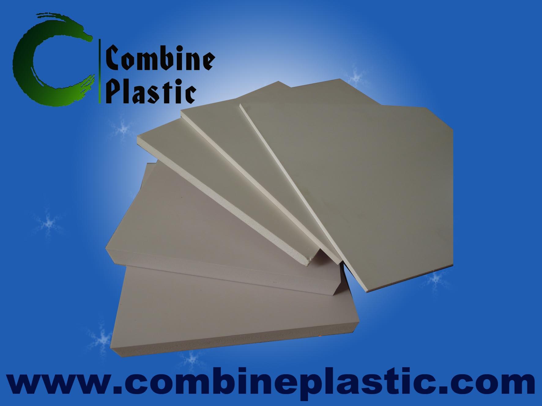 hard skin and polish foamed PVC board