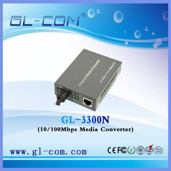 Media converter 100M/1000M Singlemode Optical Fiber Media Converter