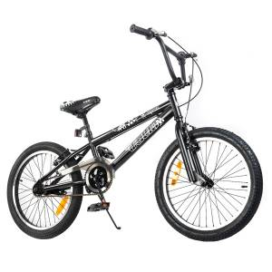 Tauki 20 Inch BMX Freestyle Boy Bike,Black