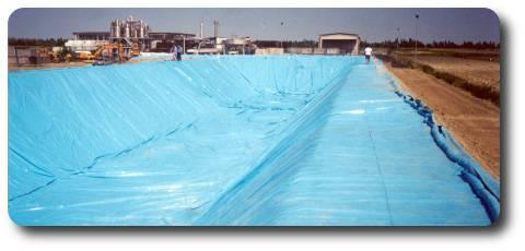 IDROEVA - waterproofing membranes for ponds