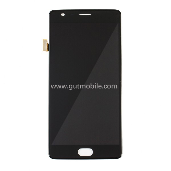 Low Price For OnePlus 3 LCD Screen and Digitizer Assembly with Frame Replacement - Black